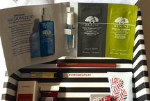 Play! by Sephora / Monthly cosmetics sample subscription box for $10 from Sephora. Click on the photos to see the matching review on my blog @ https://peacemanor.blogspot.com