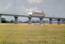 1963-1980: The Aérotrain / The train that could fly — or float, at least