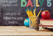 Daily 5 Reading Program / Here are ideas for using Daily 5 in your classroom. Ideas are intended for prek, kindergarten, first grade, and second grade classrooms.