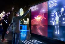 Interactive / Interactive projects in exhibitions, museum etc