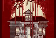 """Odd City """"Carrie"""" (1976) screen print by Jessica Deahl / Odd City's creative director, Jessica Deahl, created this custom design of Brian De Palma's Carrie for Odd City Entertainment"""
