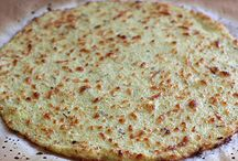 cauliflower and chia seed crust