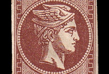 Greek stamp collection