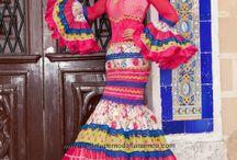 Trajes flamenca mujer
