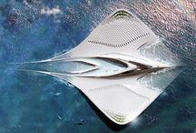 concept art _ maritime architecture