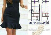 σχεδια πατρον για ρουχα γυναικεία
