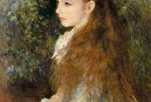 Cuadros especiales / Renoir, me encanta cómo pintaba a las mujeres en sus cuadros.