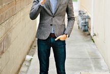 blazer&denim jeans & shoes style