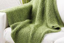 Knitting / Throw
