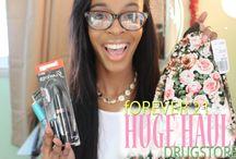 Collective Make-up & Fashion Hauls / Fashion hauls, make-up hauls by Lauren Ross