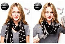 Fashion - Scarf styling
