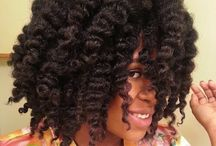 Styles cheveux afro