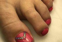 Ногти Педикюр