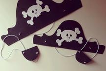 gorro y parche pirata