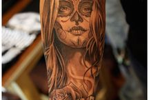 dead girl tattoos