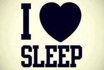 Sleeping / It's no secret - I love sleeping and can fall asleep anywhere