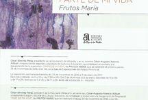 Próxima inauguración exposición Escultor Frutos María en el Palacio de la Diputación de Alicante. / Próxima inauguración exposición Escultor Frutos María, el 24 de Noviembre 2016 a las 12:00 en el Palacio de la Diputación de Alicante.