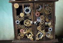 Miniatures in Steampunk / by Labedzki-Art