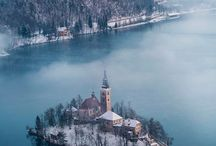 Wanderlust for Slovenia / A collage of all that I hope to experience when I visit Slovenia