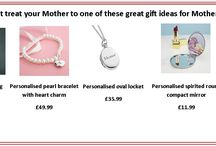 Mother's Day gift idea's