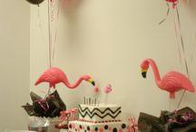 Flamingo party / by Amy DeVoar