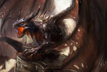 Fantasy Dragons / Immagini di Draghi