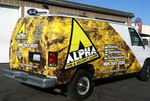 Vehicle Wraps / Includes full or partial vehicle wraps for boats, trucks, cars, vans, etc.