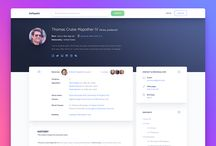 Profile pages UI