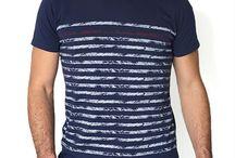 T-SHIRTS HOMME / Retrouvez les modèles de la collection STERED pour homme. Des T-shirts bretons authentiques et fiers.