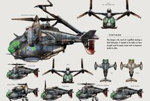helicopters orthographic view