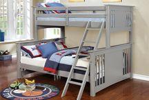 Boys Cottage room