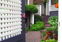 Ideas for my Postage Stamp Backyard / by Karen G