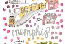 Memphis Artwork