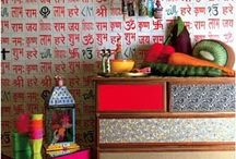 wall coverings in indian homes