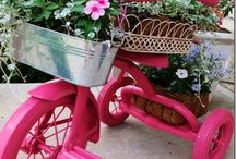 tricycle planters