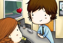 Jim & pam The office
