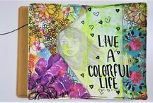 Take 5 ~ Art Journal ~ Collaboration