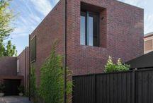 Red brick house
