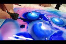 Fluid watercolor