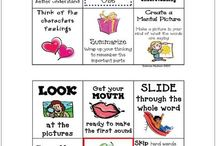 Kindergarten Reading: Strategies / This board includes ideas, activities, and resources for teaching kindergarten reading with a focus on strategies.