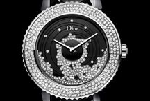 Black dial women watch
