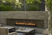 Outdoors Fireplace