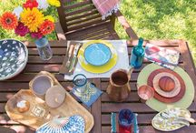 Outdoor Entertaining / Chilewich designs are stylish, durable, and easy to clean, making them perfect for dining and entertaining al fresco. / by Chilewich
