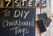 Chalkboard/Pinboard