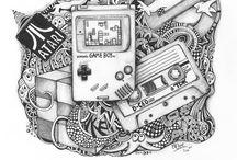 1980s Retro designs