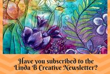 Linda B Creative Newsletter and Facebook Group