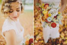 Elegant Fall Wedding Inspiration / A collaboration between Chic Vintage Brides and Celia Grace, creator of stunning wedding dresses with a heartwarming story, for brides who are beautiful inside & out.  / by Chic Vintage Brides