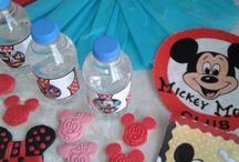 MİCKEY MOUSE DOĞUM GÜNÜ PARTİ ORGANİZASYONU / Sevimli Mickey Mouse konseptte doğum günü organizasyonu Masa süsleme,ikramlıklar,hediyelikler ve organizasyon