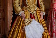 Tudor/elizabethan dress
