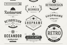 Graphisme typo logos